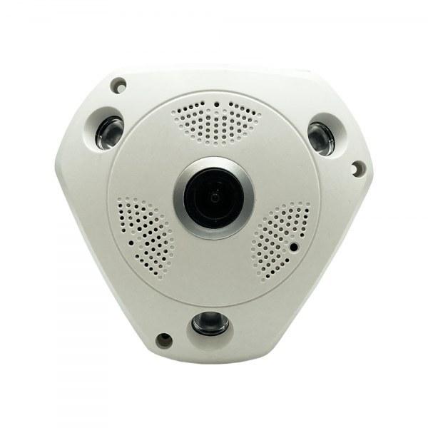 تصویر دوربین مداربسته 360 درجه فیش آی 2 مگاپیکسل AHD fisheye Fullhan