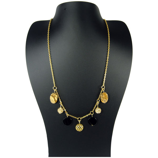گردنبند طلا 18 عیار مانچو مدل SFG606   Mancho SFG606 Gold Necklace