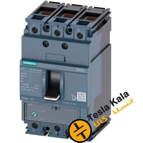 تصویر کلید SIEMENS اتوماتیک 160 آمپر قابل تنظیم حرارتی-غیرقابل تنظیم مغناطیسی 3VA1116-3EE36-0AA0