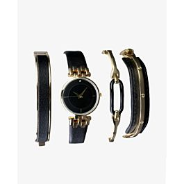 ست ساعت و دستبند زنانه مدل 9774 |
