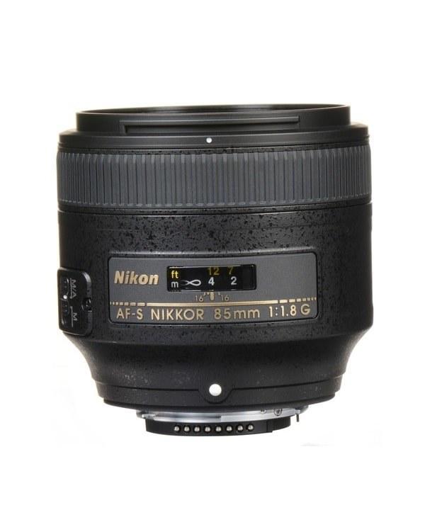لنز نیکون Nikon AF-S Nikkor 85mm F1.8G | Nikon AF-S Nikkor 85mm F1.8G