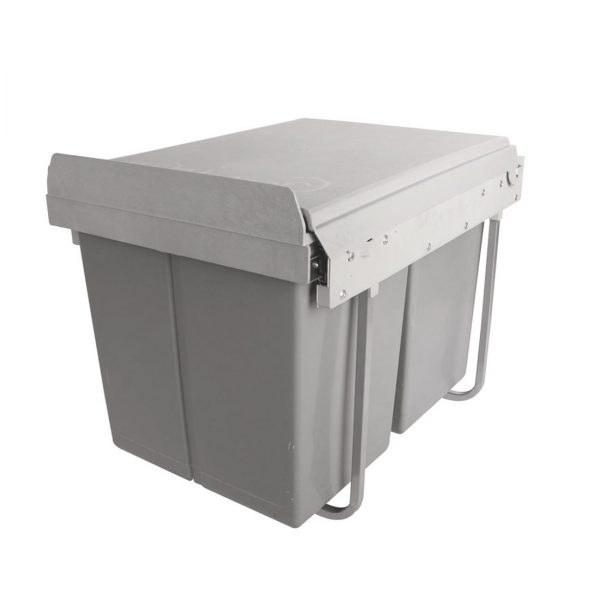 سطل زباله داخل کابینت بزرگ سی متال  
