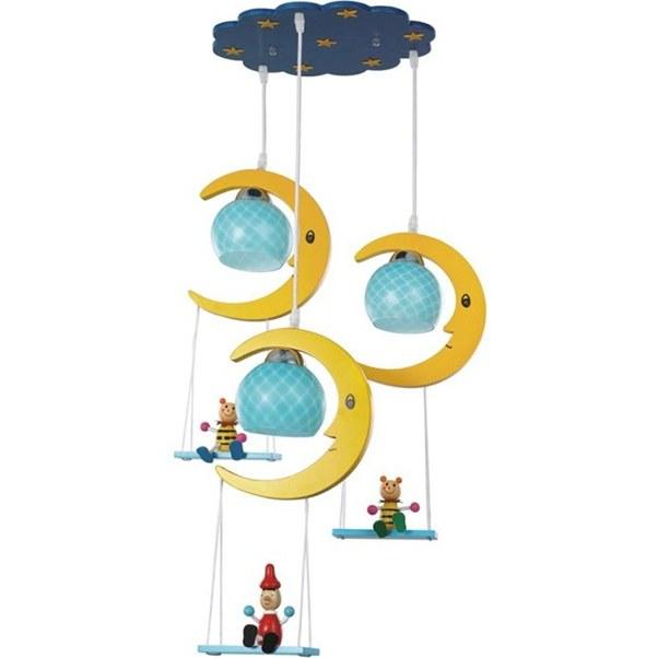 لوستر اتاق کودک (کد: slc1333-3) |