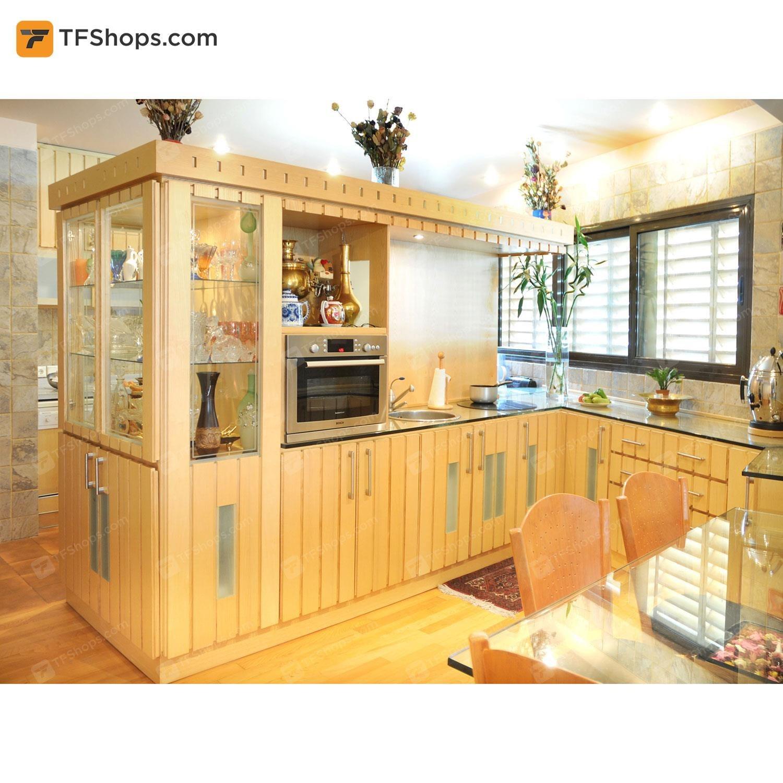 تصویر کابینت آشپزخانه تهران فرم مدل C04 Kitchen Cabinet