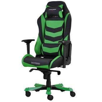 تصویر صندلی گیمینگ دی ایکس ریسر سری آیرون مدل OH/IS166/NE چرمی Dxracer Iron Series OH/IS166/NE Leather Gaming Chair