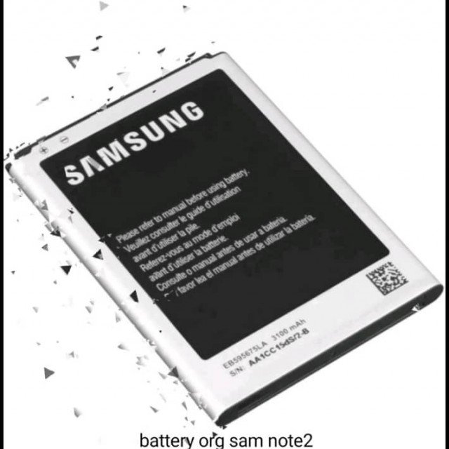 main images باتری گوشی سامسونگ گلکسی Note 2 N7100 Battery phone SAMSUNG Galaxy Note 2 original with capacity 3100 mA