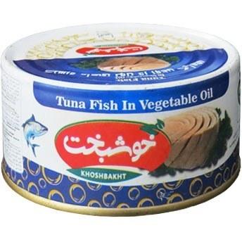 تن ماهی خوشبخت مقدار 180 گرم