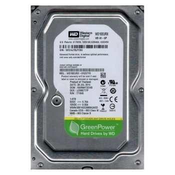 هارددیسک اینترنال وسترن دیجیتال سری سبز مدل WD10EZRX ظرفیت 1 ترابایت | Western Digital Green WD10EZRX Internal Hard Drive - 1TB