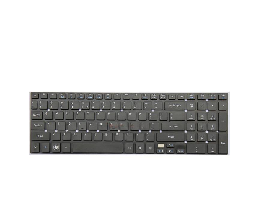 تصویر کیبورد لپ تاپ ایسر مدل ۵۷۵۵ Acer Aspire 5755 Notebook Keyboard