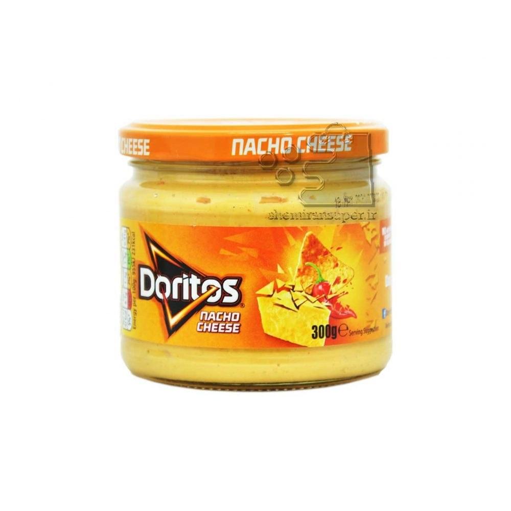 تصویر دیپ سس پنیر ناچو ۳۰۰ گرم دوریتوز – doritos