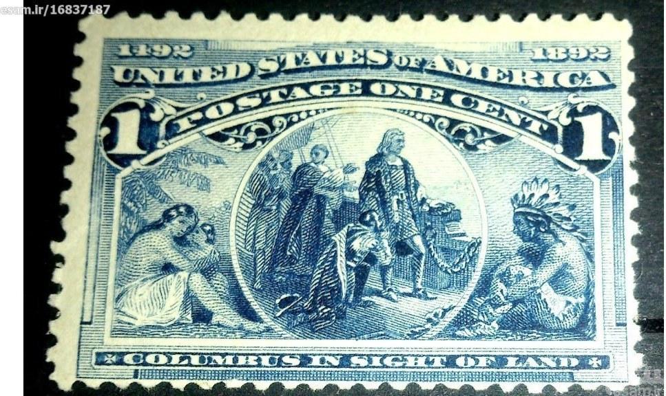 آمریکا 1893 !! نایاب / 66 دلار!! تصویر 2 |