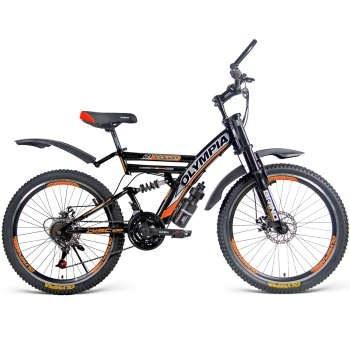 دوچرخه دو کمک کوهستان مدل 2424 سایز 24   Olympia 2424 Mountain Bicycle Size 24