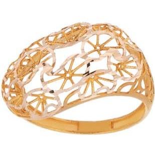 انگشتر طلا 18 عیار زنانه مدل AT5 |