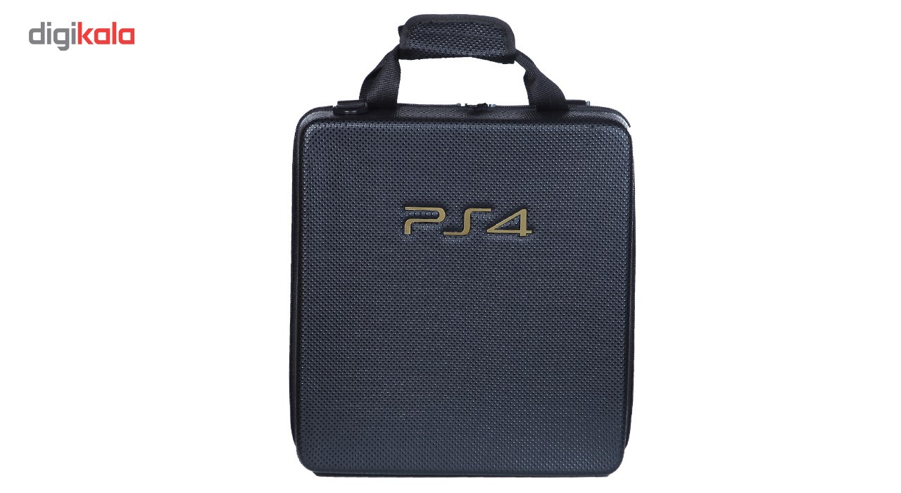 img کیف کنسول ps4 پرو طرح چرم PROleather PS4 console bag