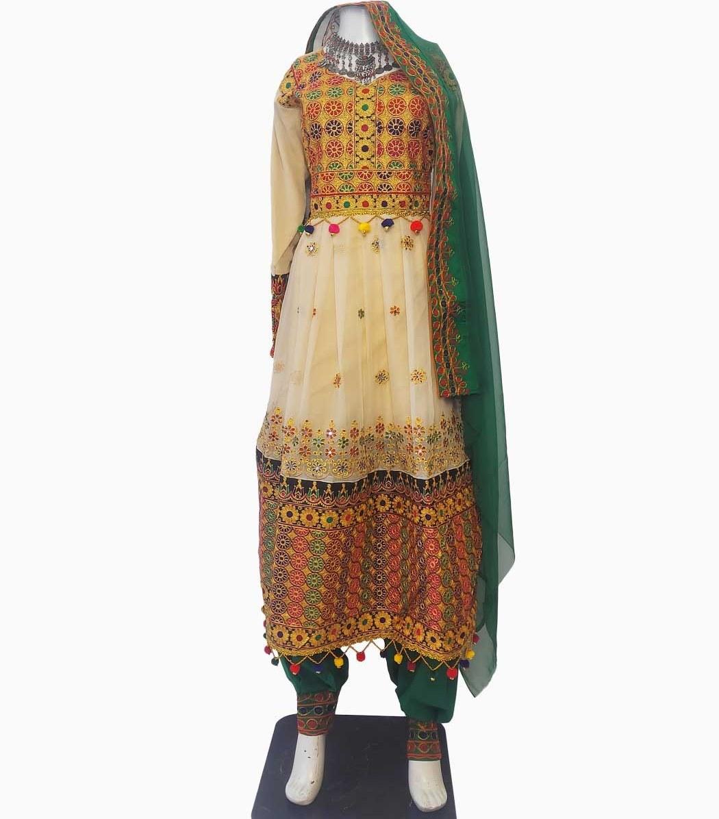 تصویر لباس گند افغانی کد KH-01051