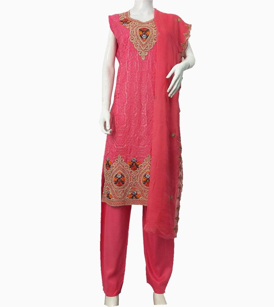 تصویر لباس پنجابی کد KH-01046