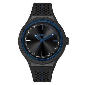 ساعت مچی آنالوگ ریبوک مدل Black Dial Silicone Band Watch