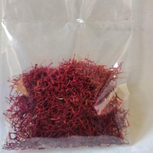 زعفران خوش عطر و خوش رنگ( 5 گرمی )