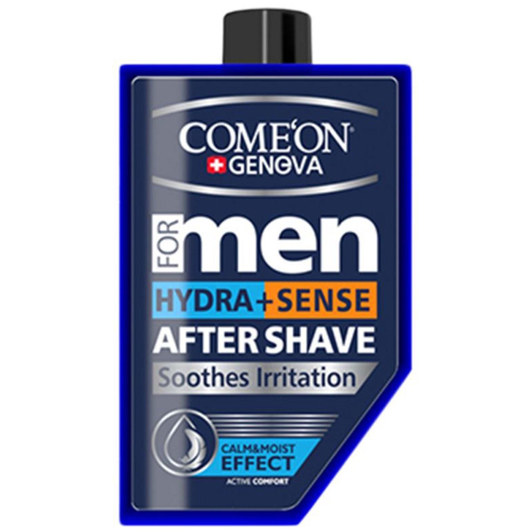 تصویر ژل اصلاح کامان مدل Hydra+Sense  Comeon Hydra And Sense After Shave For Men 260ml