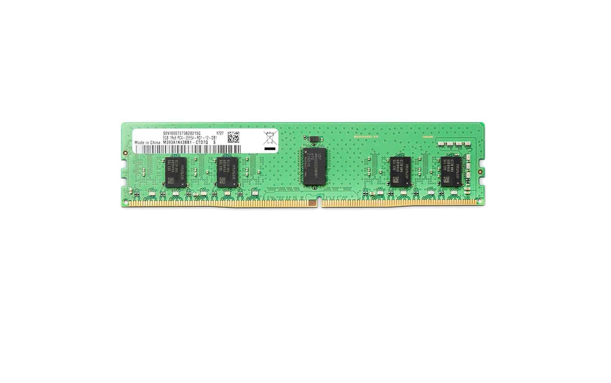 تصویر رم سرور HPE 16GB PC4-2400 HPE 16GB PC4-2400 server RAM