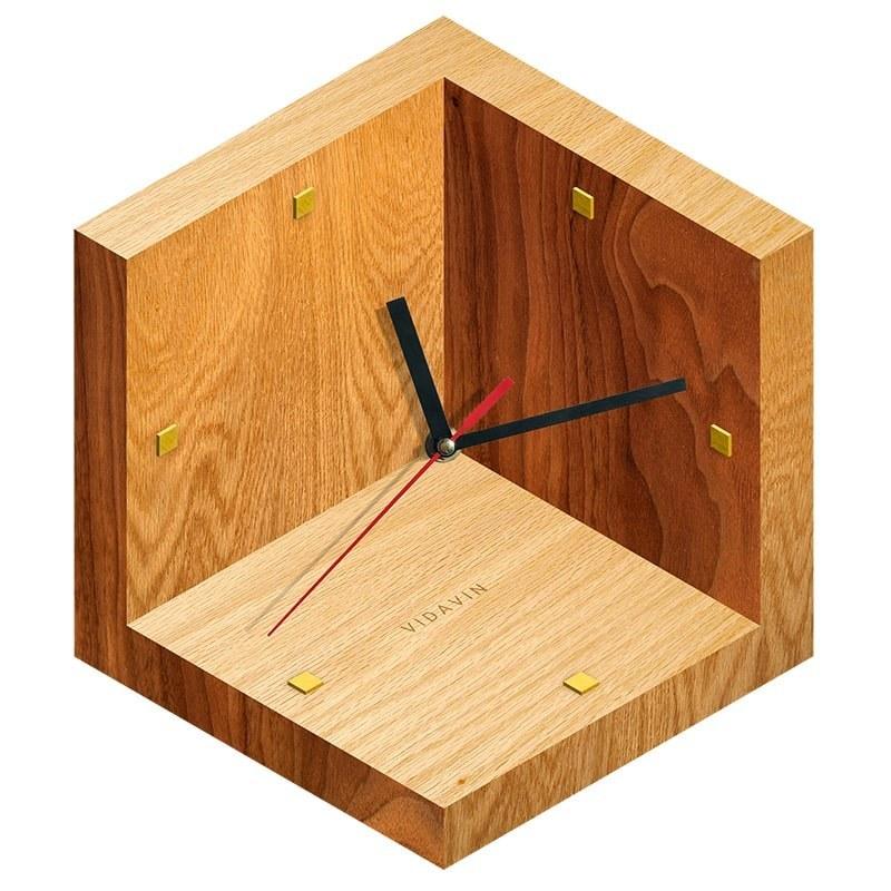 تصویر ساعت دیواری ویداوین مدل Cube 3