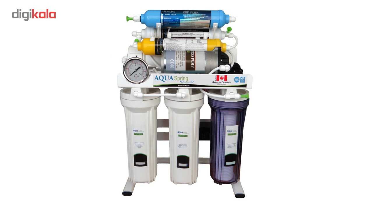 img تصفیه آب خانگی آکوآاسپرینگ مدل RO-S151 Aquaspring RO-S151 Water Purifier