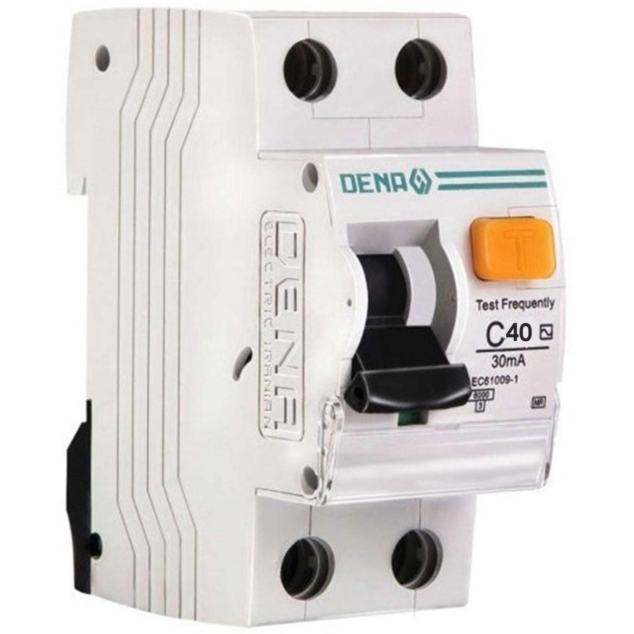 تصویر کلید محافظ جان ترکیبی 40 آمپر مگنتیک دنا الکتریک مدل C40-6K MR