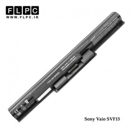 تصویر باطری لپ تاپ سونی Sony Vaio SVF15 Laptop Battery _4cell مشکی