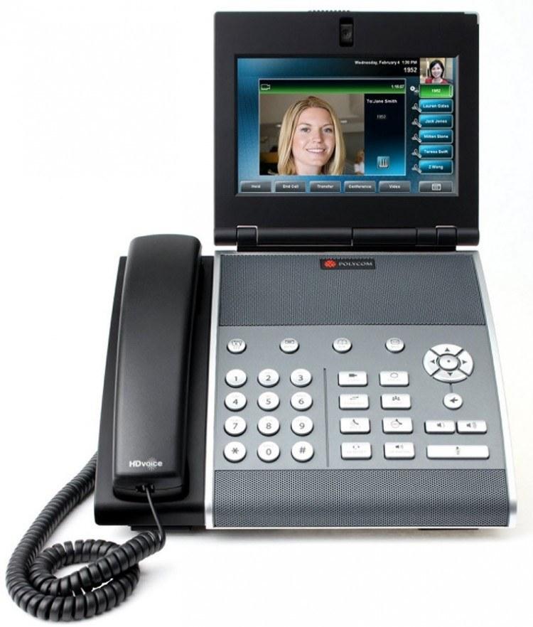 تصویر Polycom VVX1500 Video IP Phone پلیکام قیمت   به شرط خرید تیمی