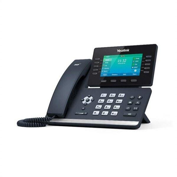 تصویر تلفن تحت شبکه یالینک مدل Yealink SIP T54W Yealink SIP T54W network phone