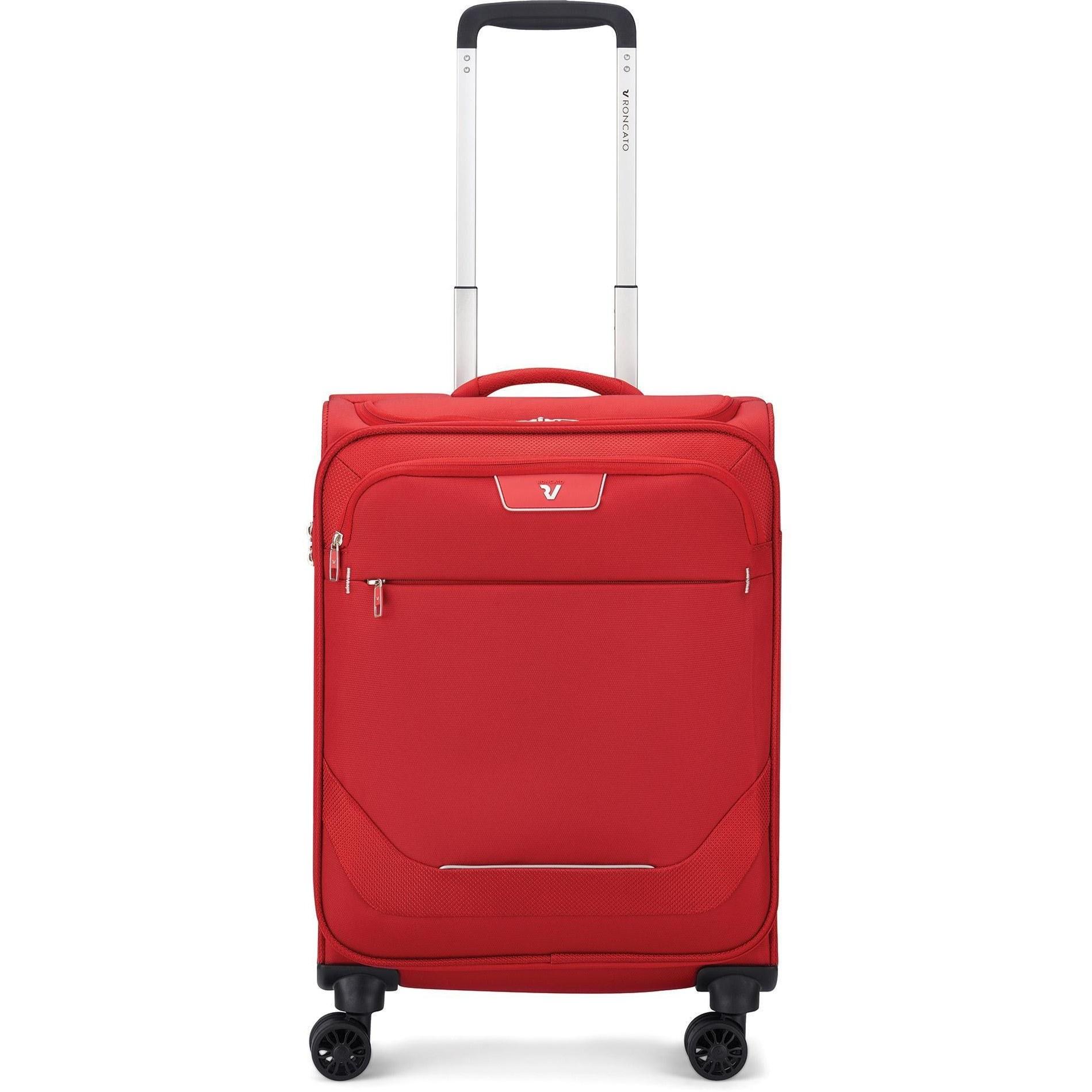 عکس چمدان رونکاتو مدل جوی سایز کابین قرمز  چمدان-رونکاتو-مدل-جوی-سایز-کابین-قرمز