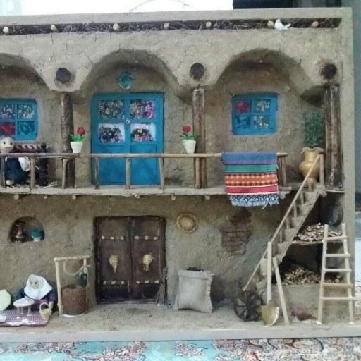 تابلو نمای خانه روستایی