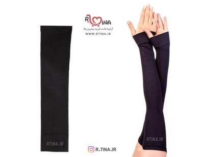 تصویر ساق دست مردانه و زنانه ساده مشکی