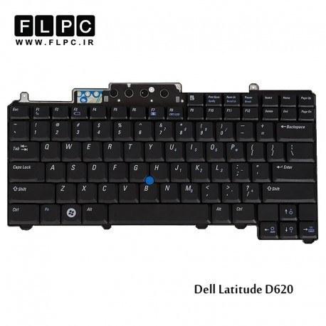 تصویر کیبورد لپ تاپ دل Dell Latitude D620 Laptop Keyboard باموس