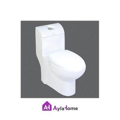 توالت فرنگی چینی کرد مدل والریا درجه دو
