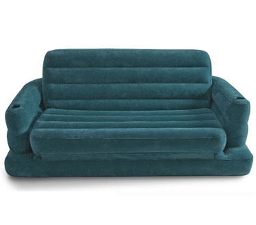 تصویر کاناپه بادی دو نفره تخت خواب شو 2014