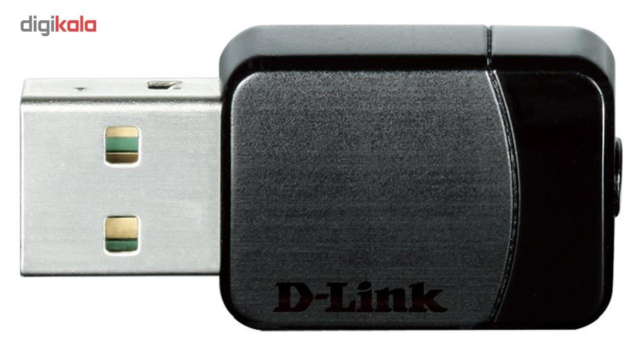 img کارت شبکه بی سیم USB دی لینک مدل DWA-171 D-Link DWA-171 USB Wireless Network Adapter