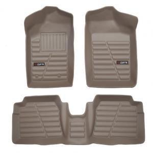 کفپوش سه بعدی خودرو کرم مناسب برای پژو 405 مدل 14   کفپوش سه بعدی خودرو مناسب برای پژو 405 مدل 14