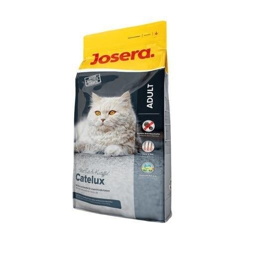 غذای خشک گربه بالغ، حاوی گوشت اردک، با خاصیت دفع کنندگی گلوله مویی، ۲ کیلوگرمی، مدل کتلوکس، برند جوسرا |