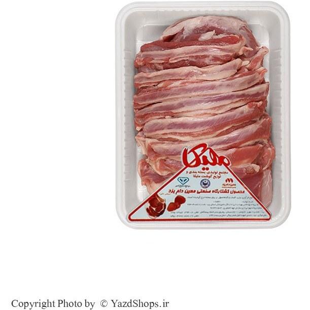 گوشت شیشلیک ۲ کیلویی دنده و راسته گوسفندی ( ۵ نفره )