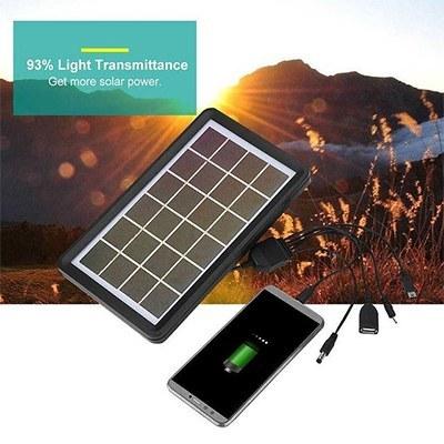 تصویر شارژر همراه خورشیدی 3 وات