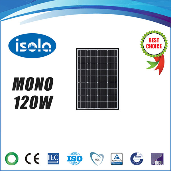main images پنل خورشیدی 120 وات OSDA-ISOLA مونو کریستال