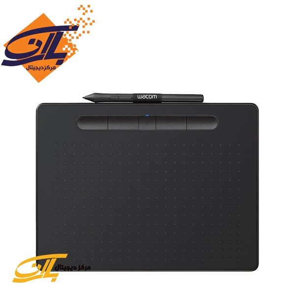 تصویر تبلت گرافیکی و قلم نوری وکام سایز کوچک مدل اینتوس بلوتوث CTL-4100WL Wacom Intous Bluetooth CTL-4100WL Small Pen Tablet