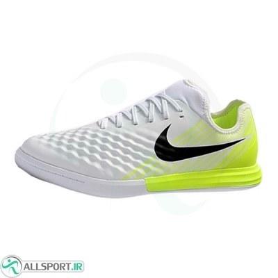 کفش فوتسال نایک سایز کوچک مجیستا طرح اصلی سفید Nike MagistaX