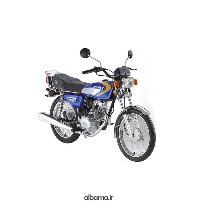 تصویر موتور سیکلت نامی 125 استارتی نیرو محرکه