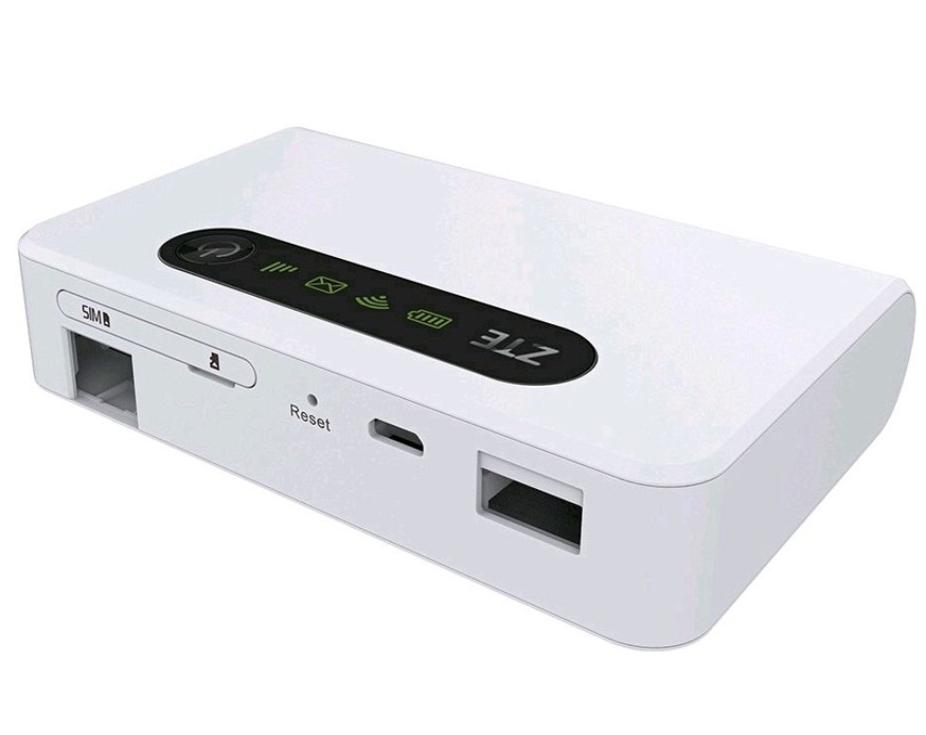 تصویر مودم قابل حمل 4G LTE جیبی ZTE مدل MF903 ZTE 4G LTE Portable Modem MF903