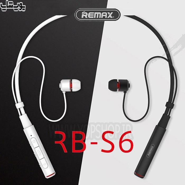 تصویر هدست بلوتوث استریو ریمکس مدل RB-S6 REMAX RB-S6 Neckband Bluetooth Earphone