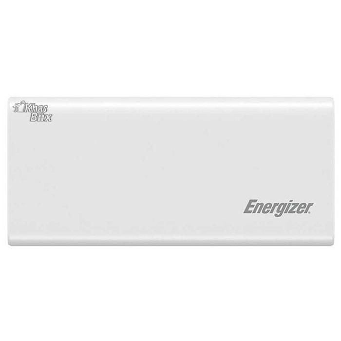 شارژر همراه انرجایزر مدل UE20007PQ با ظرفیت 20000 میلی آمپر ساعت سفید