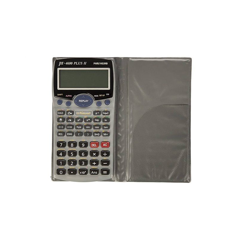تصویر ماشین حساب مدل PX-4600plus Ll پارس حساب Calculator model PX-4600plus Ll Pars Hesab