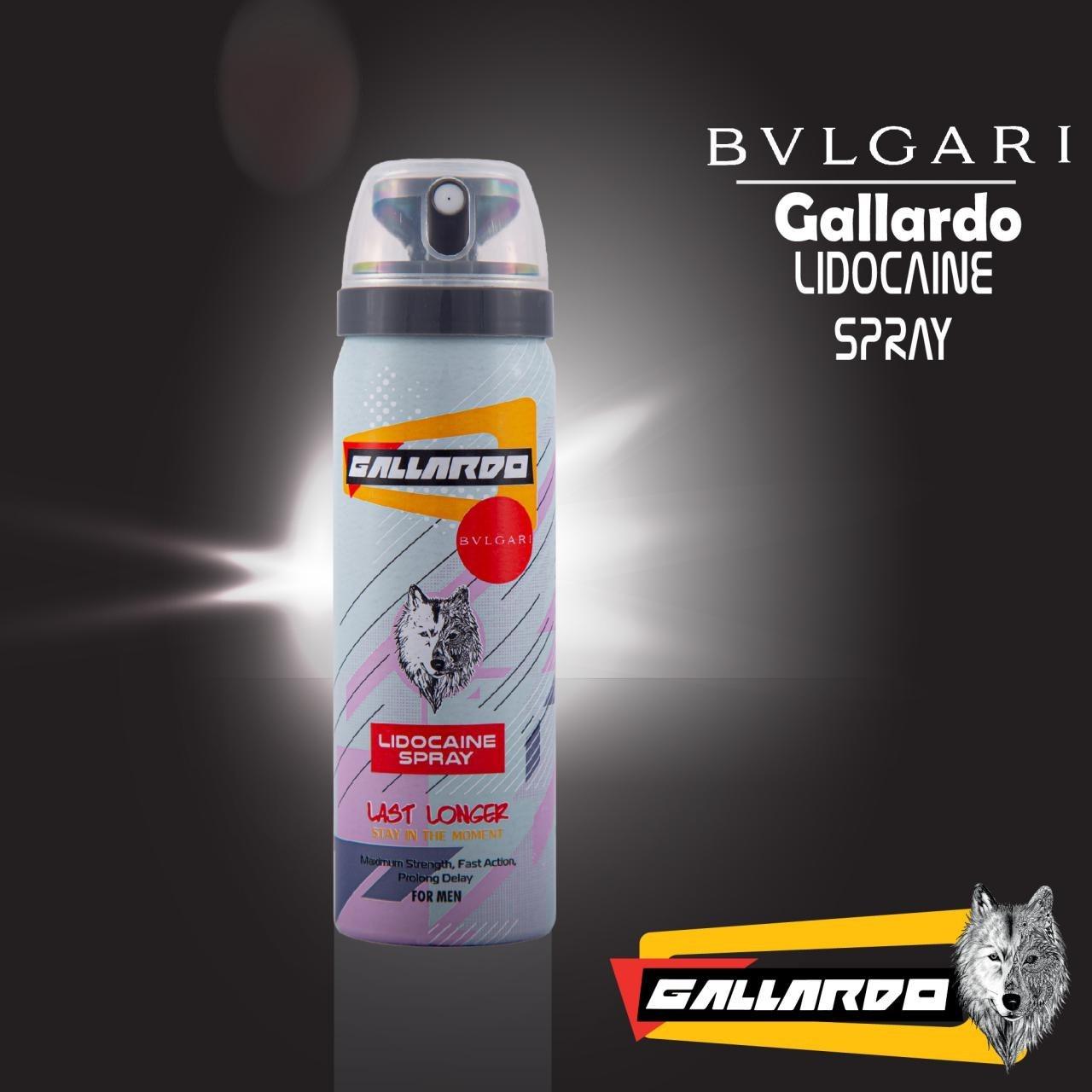 تصویر اسپری تاخیری با رایحه عطر دیویدوفگالاردو ا Gallardo Delay Spray Gallardo Delay Spray